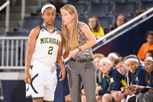 Kim Barnes Arico has guided Michigan to 20-plus win seasons each of her three years there. Photo courtesy of Michigan Athletics.