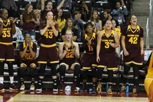 Arizona State has spent most of the 2015-2016 season ranked in the top 10. Photo courtesy of Arizona State Athletics.