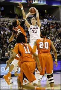 Breanna Stewart rises to score. Photo by Robert L. Franklin.