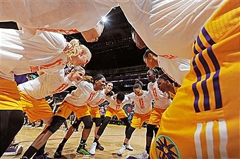The Sparks have recorded their best season start ever, at 10-0. Photo by NBAE Getty Images/Juan Ocampo.