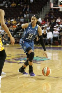 Maya Moore says appreciation for her team and her opportunities helps her keep a fresh perspective. Photo by Ken Brooks/T.G.Sportstv1