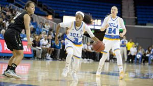 Jordin Canada is already averaging 8.3 assists per game this season. Photo courtesy of UCLA Athletics.