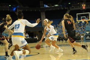Nicole Kornet made an impressive showing in her first outing for UCLA. Photo by Benita West/TGSportstv1.