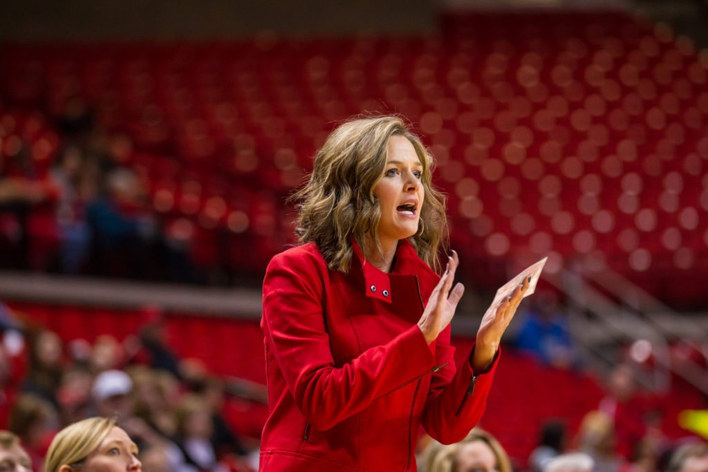 Former Texas Tech star Candace Whitaker enters her fourth year as head coach of the program this season. Photo courtesy of Texas Tech Athletics.