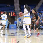 Jordin Canada sets up the offense.  Photo by Benita West, TGTVSports1.
