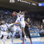 Monique Billings battles for the rebound.  Photo by Benita West, TGTVSports1.