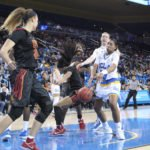 Kelli Hayes loses ball possession.  Photo by Benita West, TGTVSports1.