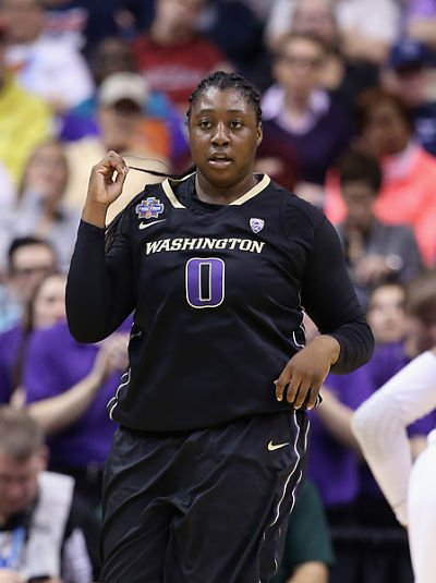 Chantel Osahor averages an NCAA-best 14.8 rebounds per game, and has an NCAA-leading 20 double-doubles on the year.  Associated Press archive photo.