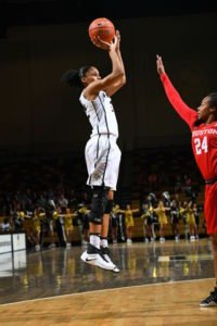 UCF's Aliyah Gregory. Photo courtesy of UCF Athletics.