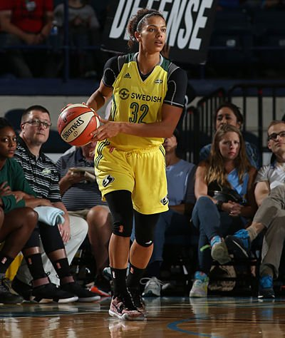 Alysha Clark led the Storm with 22 points on 9-10 shooting. Photo via NBAE/Getty Images.