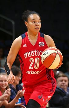 Kristi Toliver has had double-digit scoring for three consecutive games. Photo by Ned Dishman/NBAE via Getty Images.
