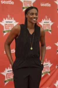 Sylvia Fowles. Photo by Jamie Mitchell/TGSportstv1.