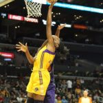 Nneka Ogwumike is fouled at the hoop. Photo by Benita West/TGSportsTV1.