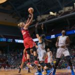 Elena Delle Donne elevates to score. Photo by Brian Few Jr./TGSportsTV1.