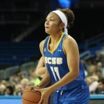 Sarah Porter had 11 points for the Gauchos. Photo by Maria Noble/WomensHoopsWorld.