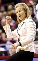 Sue Semrau is in her 21st year at Florida State and her 31st coaching overall. Photo courtesy of FSU Athletics.