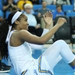 Jordin Canada is fouled. Photo by Maria Noble/WomensHoopsWorld.