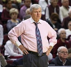 Longtime Texas A&M coach Gary Blair won his 750th collegiate game last month. Photo courtesy of Kirby Clarke.