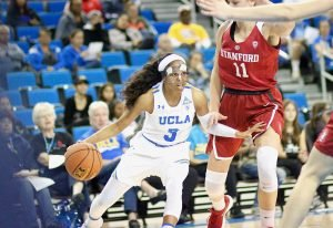 Jordin Canada drives by the defense. Photo by Arionne Thomas.