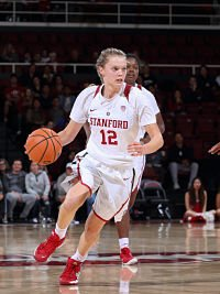 Brittany McPhee has ignited Stanford on a winning streak since her return from injury. Photo courtesy of Stanford Athletics.