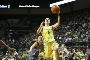 Maite Cazorla. Photo by Samuel Marshall/Eric Evans Photography/Oregon Athletics.