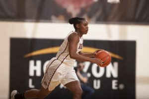 Danielle Lawrence. Photo courtesy of IUPUI Athletics.