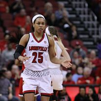 Asia Durr. Photo courtesy of Louisville Athletics.
