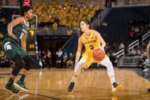 Katelynn Flaherty. Photo courtesy of Michigan Athletics.