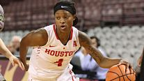 Jasmyne Harris. Photo courtesy of Houston Athletics.