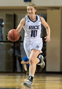 Wendy Knight. Photo courtesy of Rice Athletics.
