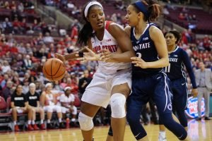 Stephanie Mavunga. Photo courtesy of Ohio State Athletics.