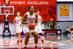 Channon Fluker. Photo courtesy of CSUN Athletics.