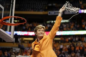 Pat Summitt. AP stock photo.