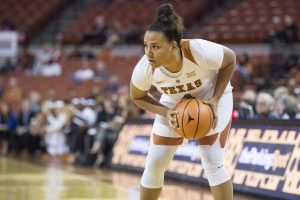 Destiny Littleton. Photo courtesy of Texas Athletics.