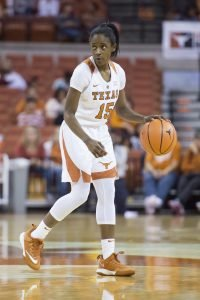 Chasity Patterson. Photo courtesy of Texas Athletics.