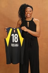 NEW YORK, NY - APRIL 04: Kelsey Mitchell poses for a portrait during the WNBA Draft on April 12, 2018 in New York, New York at the Nike New York Headquarters. NOTE TO USER: User expressly acknowledges and agrees that, by downloading and/or using this photograph, user is consenting to the terms and conditions of the Getty Images License Agreement. Mandatory Copyright Notice: Copyright 2018 NBAE (Photo by Michael J. LeBrecht II/NBAE via Getty Images)