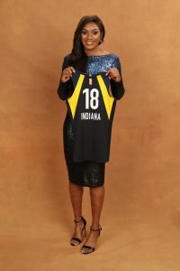 NEW YORK, NY - APRIL 04: Vitoria Vivians poses for a portrait during the WNBA Draft on April 12, 2018 in New York, New York at the Nike New York Headquarters. (Photo by Michael J. LeBrecht II/NBAE via Getty Images)