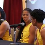 Candace Parker and Alana Beard. Photo by Maria Noble/WomensHoopsWorld.