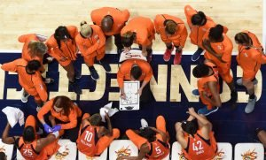 The Sun went from ninth in 2016 to fourth last year in coach Curt Miller's second year. Photo courtesy of Connecticut Sun.