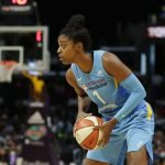 Diamond DeShields. Photo by Maria Noble/WomensHoopsWorld.