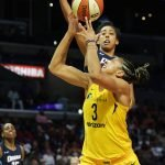 Candace Parker shoots the ball. Maria Noble/WomensHoopsWorld.