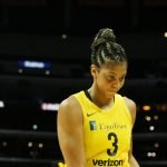 Candace Parker walks up court. Maria Noble/WomensHoopsWorld.