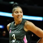 Candace Parker had 23 points and 10 rebounds in LA's win over Minnesota. Maria Noble/WomensHoopsWorld.