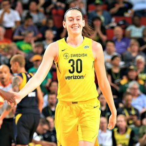 2018 WNBA MVP Breanna Stewart has had a dominating season. Neil Enns/Storm Photos.