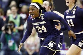 Arike Ogunbowale. Andy Lyons/Getty Images.