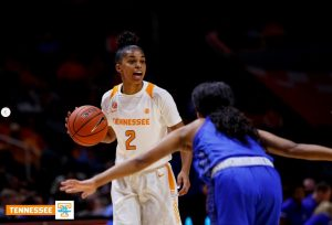 Evina Westbrook. Photo courtesy of Tennessee Athletics.