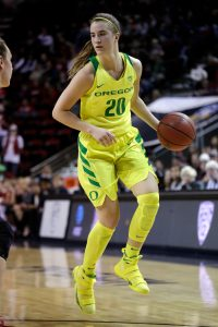 Sabrina Ionescu emerged as a scoring and triple-double expert in her sophomore season. AP Photo/Elaine Thompson)