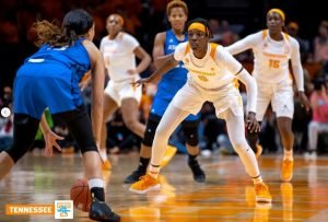 Rennia Davis. Photo courtesy of Tennessee Athletics.