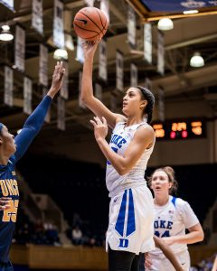 Jade Williams. Photo courtesy of Duke Athletics.