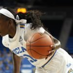 Michaela Onyenwere drives. Photo by Maria Noble/WomensHoopsWorld.